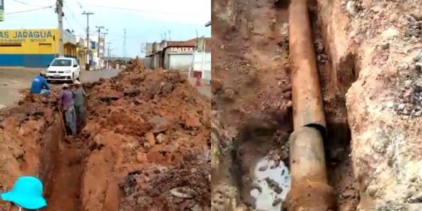 Agespisa retoma abastecimento em bairros atingidos em Corrente