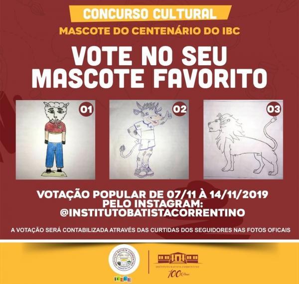 IBC lança concurso para escolha do mascote de centenário da escola