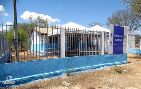 Prefeitura, entrega Posto de saúde reformado à comunidade Barreirão