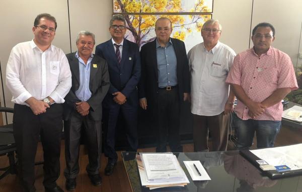 Prefeito Murilo se encontra com o Governador Ibaneis Rocha