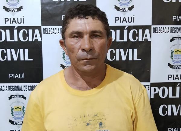 Pai suspeito de estuprar e engravidar a filha de 12 anos é preso em Corrente