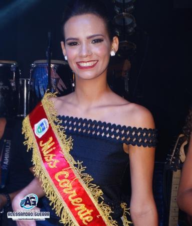 Bruna Magalhães é eleita Miss Corrente 2019