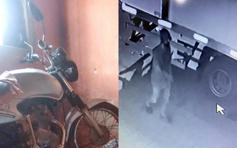 Mecânico tem a moto roubada na manhã dessa sexta, 26 em Corrente