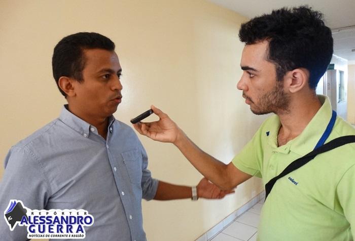 Secretário de saúde do estado do Piauí esteve na cidade de Corrente