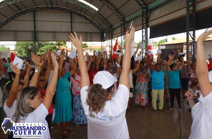 Mais Viver Piauí levou á Cristalândia um circuito integrado de saúde