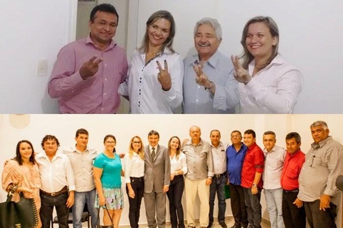 Candidatos à prefeitura de Parnaguá se reúnem com lideranças estaduais