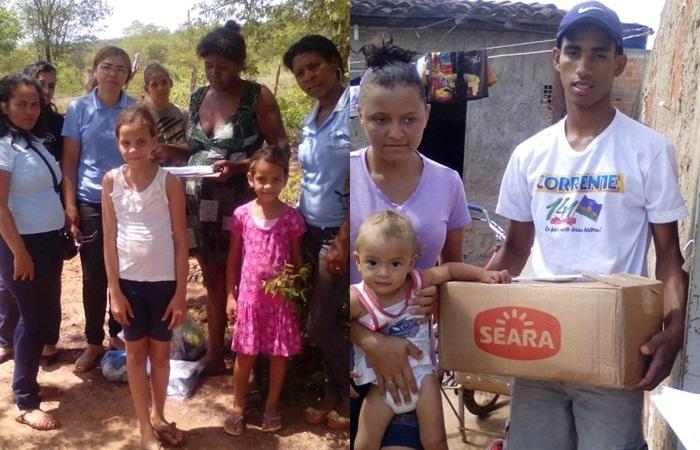 Conselho Tutelar promoveu a campanha natal solidário em Corrente