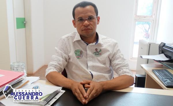 Atual Diretor do IFPI e candidato em chapa única, Laécio Barros concede entrevista ao Repórter Alessandro Guerra