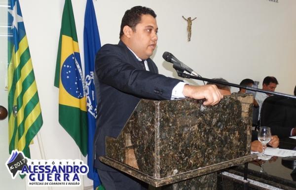 Cristovam Neto é o novo líder do governo na Câmara de Corrente