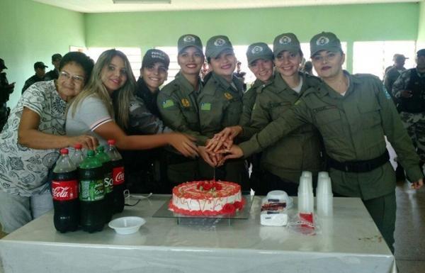 7 º Batalhão realiza homenagem ao dia da mulher