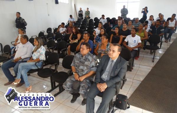 Segurança Pública apresentou projeto mirim cidadão e GT- LGBT em Corrente