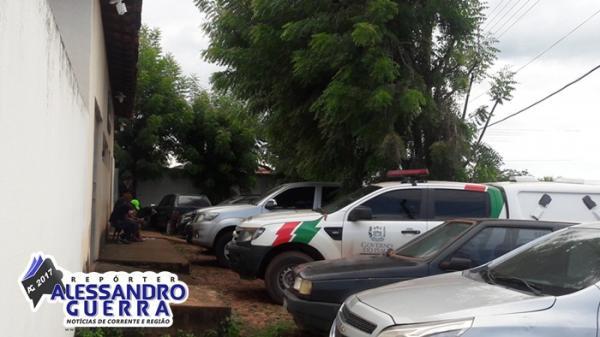 Fim de semana marcado por furtos e arrombamento na cidade de Corrente