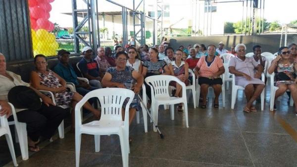Secretaria de Assistência Social de Cristalândia promove encontro com idosos
