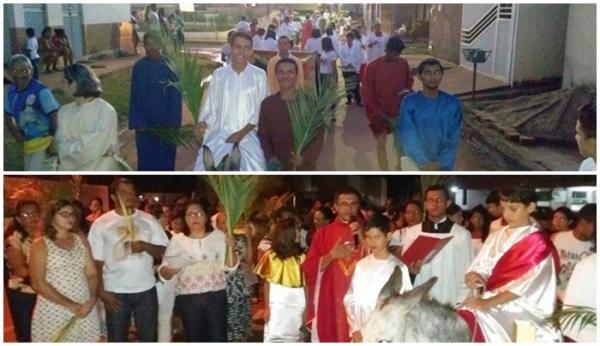 Domingo de Ramos dá início à Semana Santa em Corrente; veja programação das duas paróquias