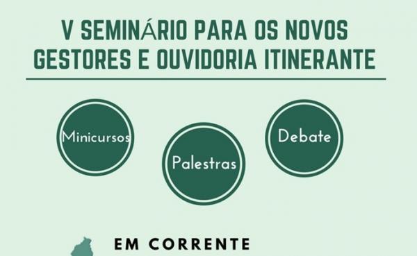 TCE- PI realiza seminário para qualificar gestores da microrregião de Corrente