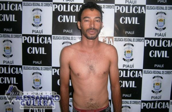 Identificado suspeito de homicídio no Bairro Vermelhão em Corrente