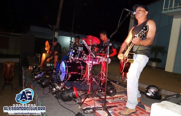 Projeto Boca da Noite recebeu Charles Brau e a banda Fobia em Corrente