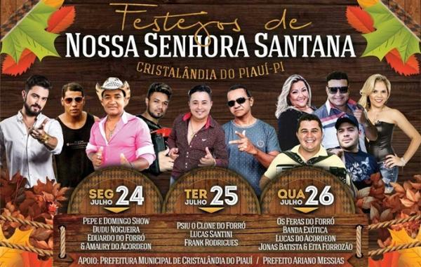 Festejos de Cristalândia do Piauí promete ser o melhor e maior dos últimos tempos