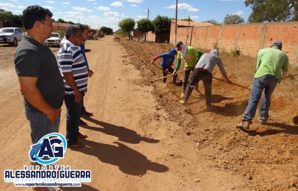 Prefeitura realiza obra para regularizar o abastecimento d'água em Sebastião Barros