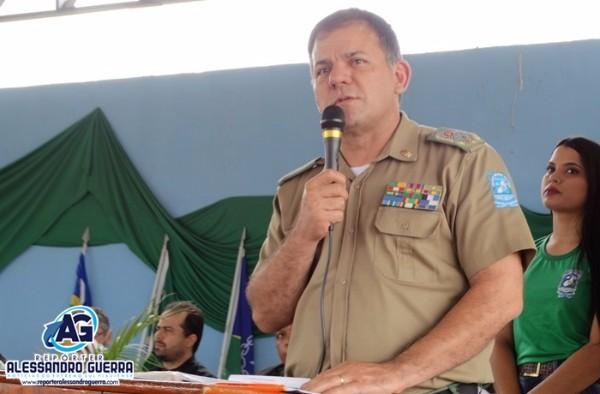 Entrevista comandante geral da Policia Militar do Piauí